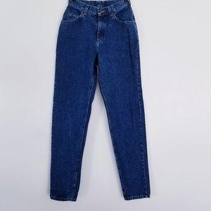 80s vtg Lee Pepper Wash High Waisted  Jeans